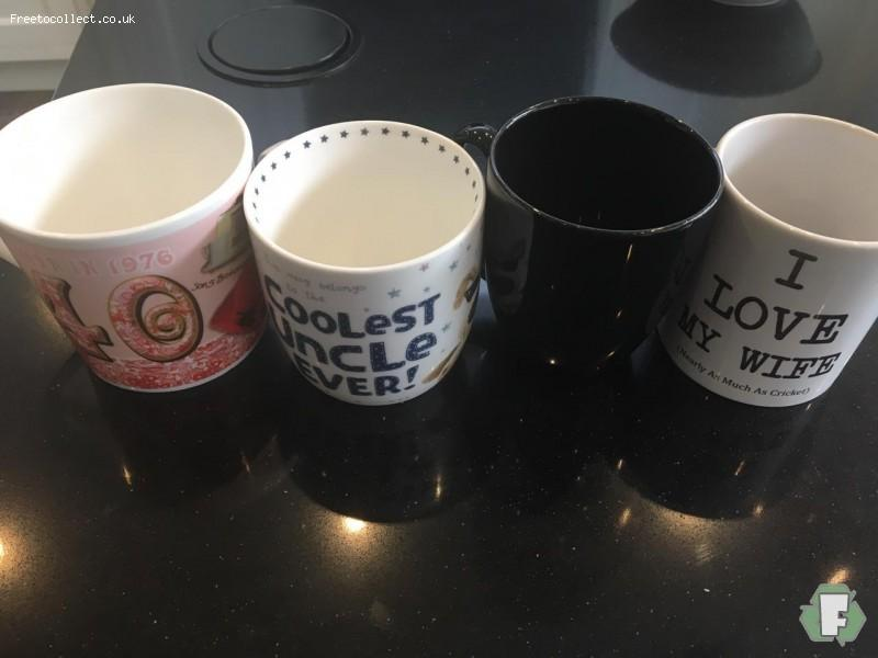 Mugs  at www.freetocollect.co.uk