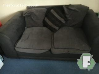 Two seater sofa   at www.freetocollect.co.uk